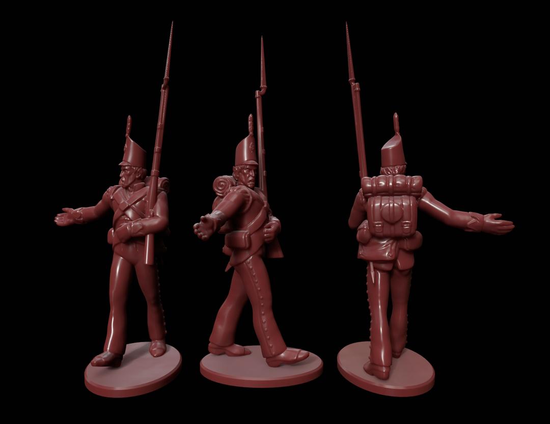 High Elf Infantry Miniatures HighElf2 png