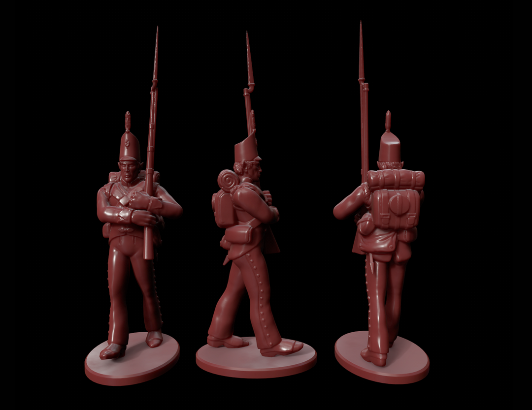 High Elf Infantry Miniatures HighElf3 png