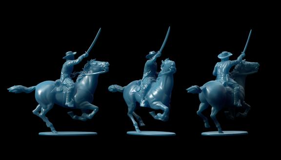Michigan 7th Cavalry Miniatures