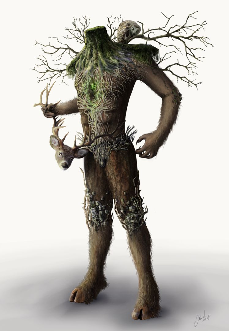 Character design Forest king 07a jpg
