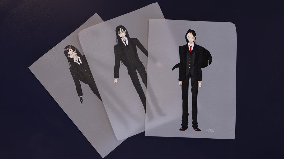Character design Nobu render png