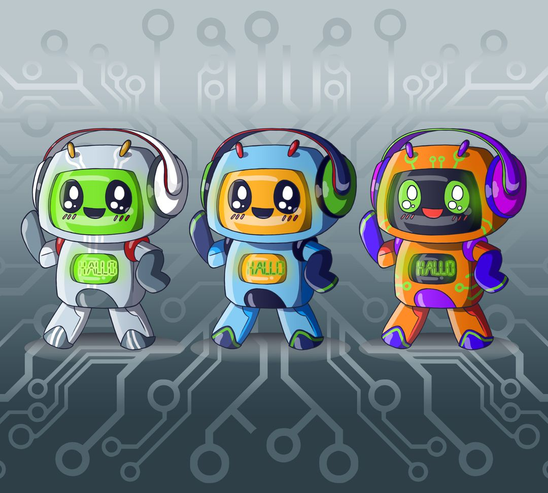 Character design Robot test 02 insta jpg