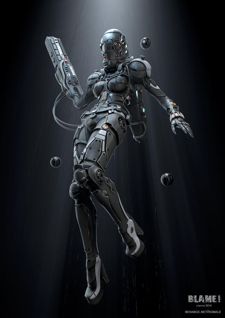 Blame Cyborg Blame 01 jpg