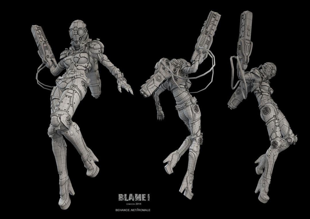 Blame Cyborg Blame 03 jpg