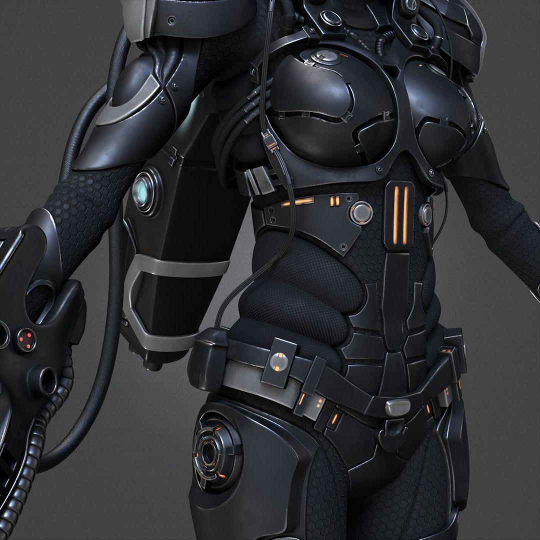 Blame Cyborg roman makarenko 13 jpg