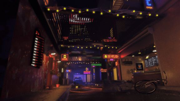 Urban Alley - Environment Design