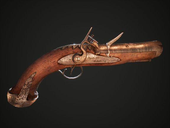 Flintstock Pistol
