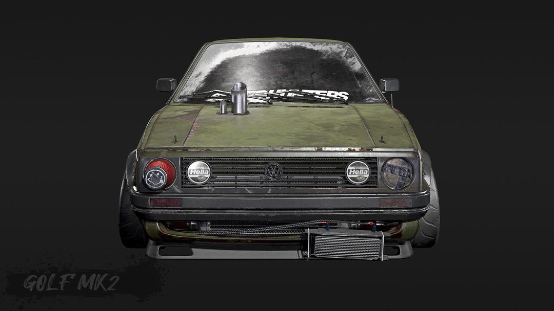 Tune And Beaten Up Volkswagen Golf Mk2 VWgolf 01 jpg