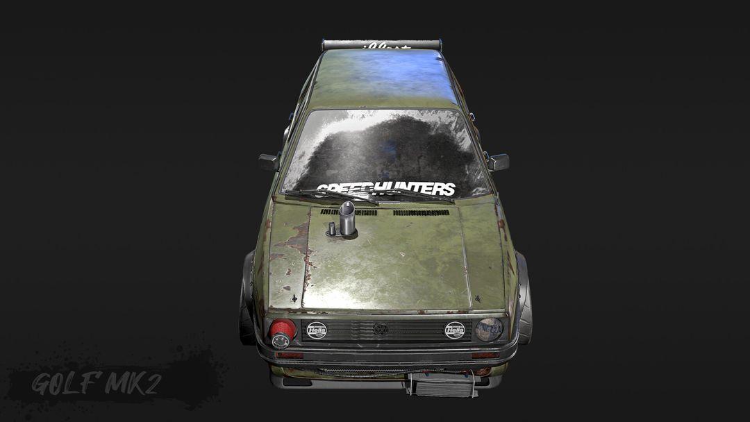 Tune And Beaten Up Volkswagen Golf Mk2 VWgolf 02 jpg