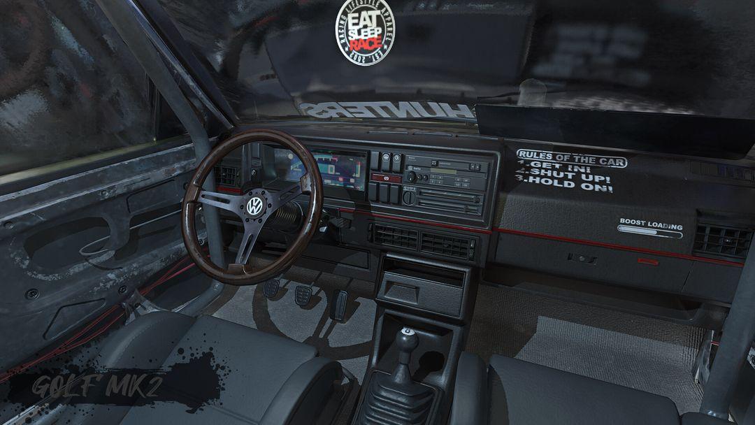 Tune And Beaten Up Volkswagen Golf Mk2 VWgolf 05 jpg