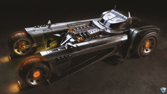 Sean Murphy's Batmobile