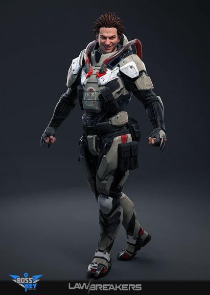 Lawbreakers - Wraith Tier 1