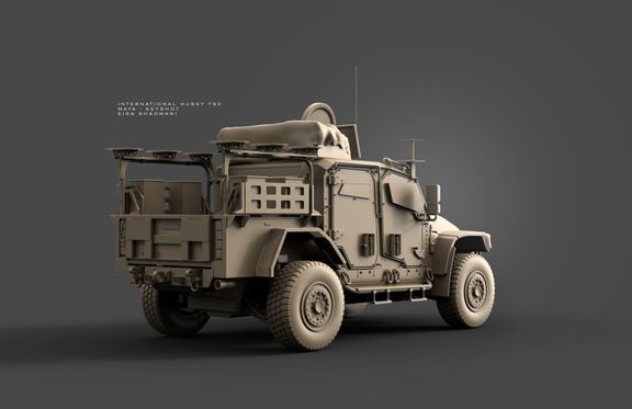 Vehicle, Hardsurface, Industrial Design