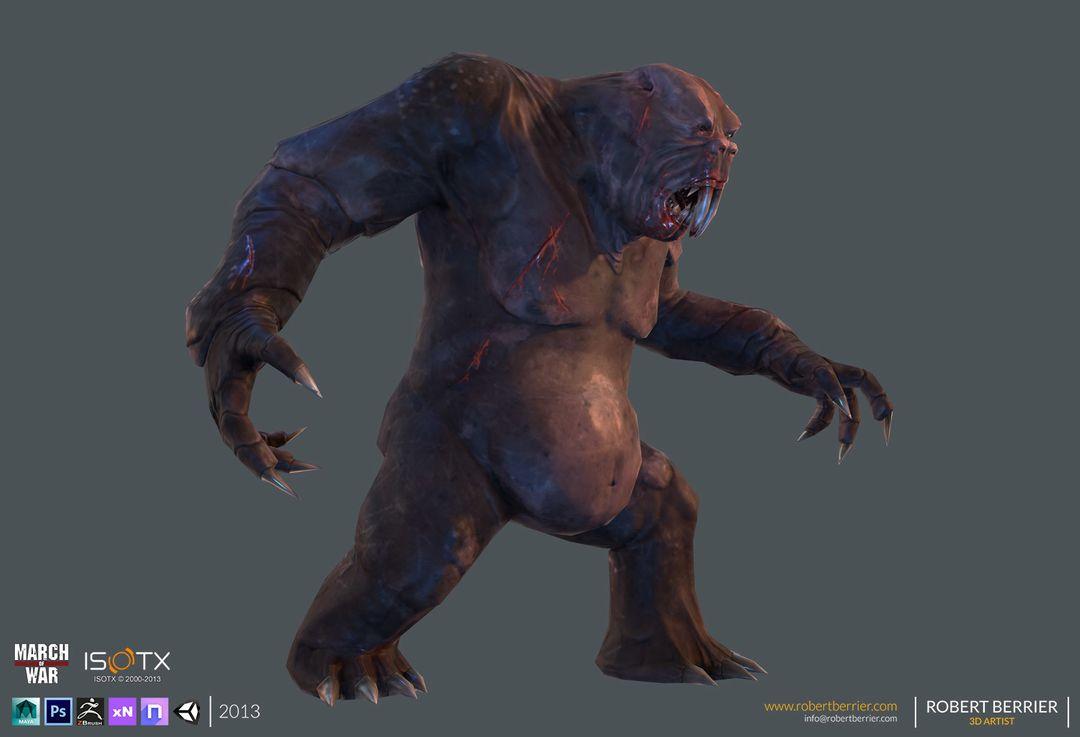March of War – Gorilla Mole CGH39 24 jpg