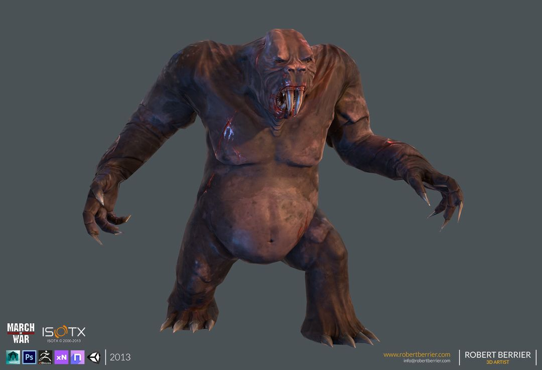 March of War – Gorilla Mole CGH39 25 jpg