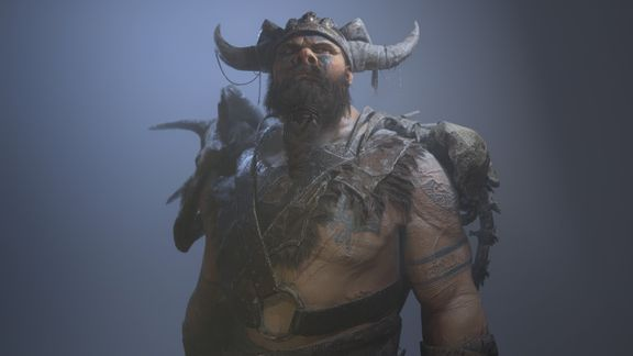 Giant Realtime Character