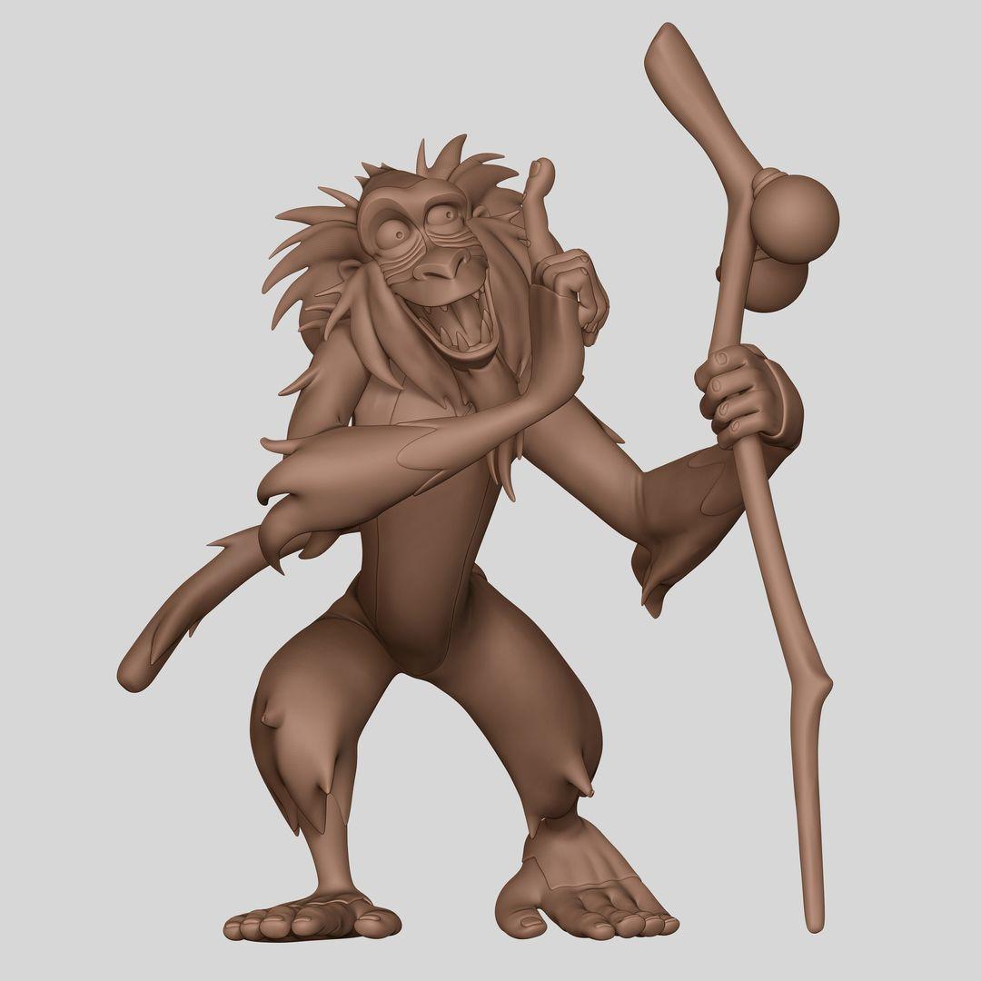 Rafiki Lion King FanArt weston reid hp01 jpg