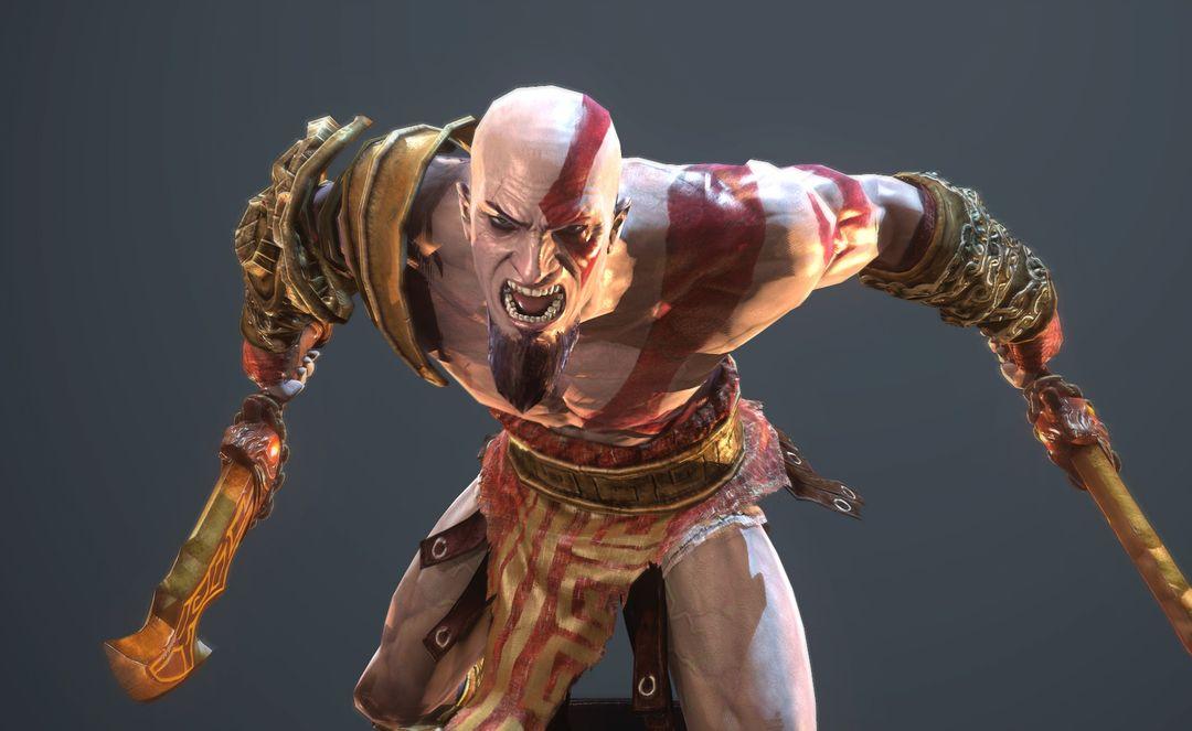 Warrior Character Model CGH47 3 jpg