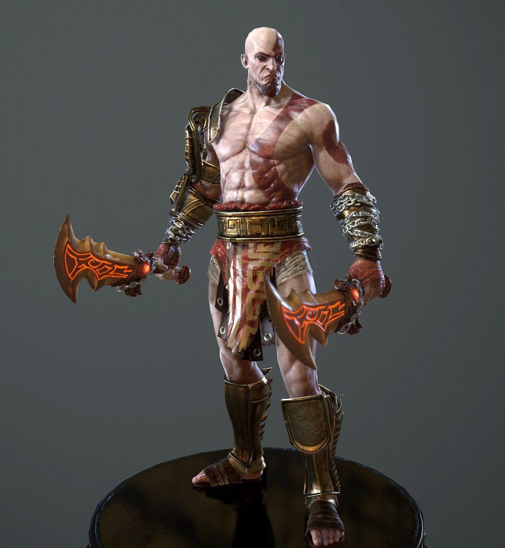 Warrior Character Model CGH47 4 jpg