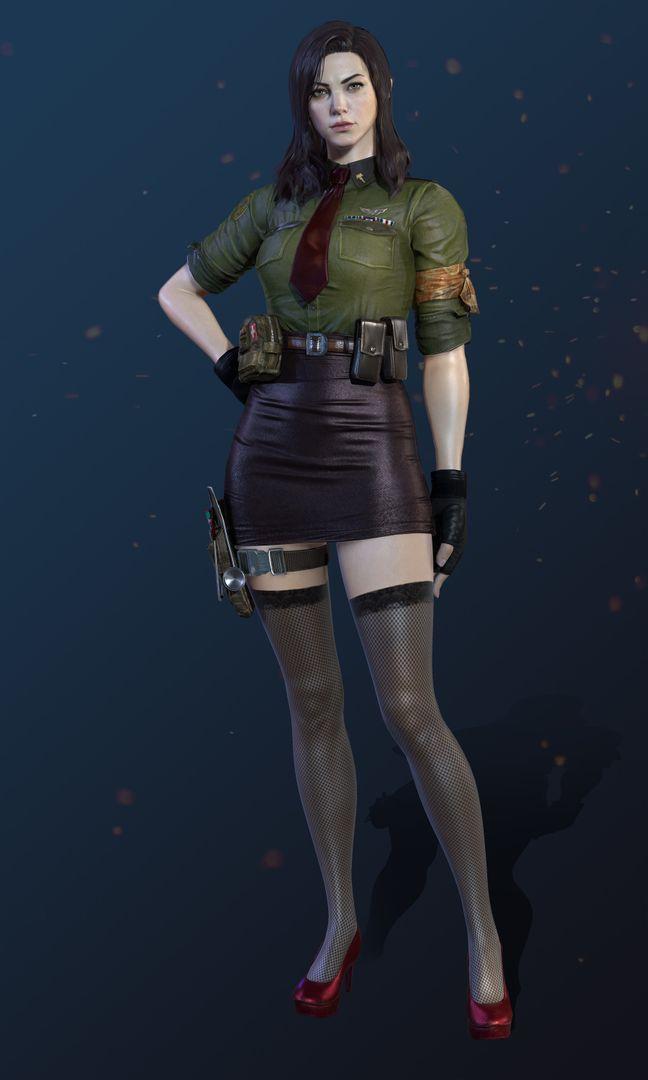 Female Character Model CGH47 8 jpg
