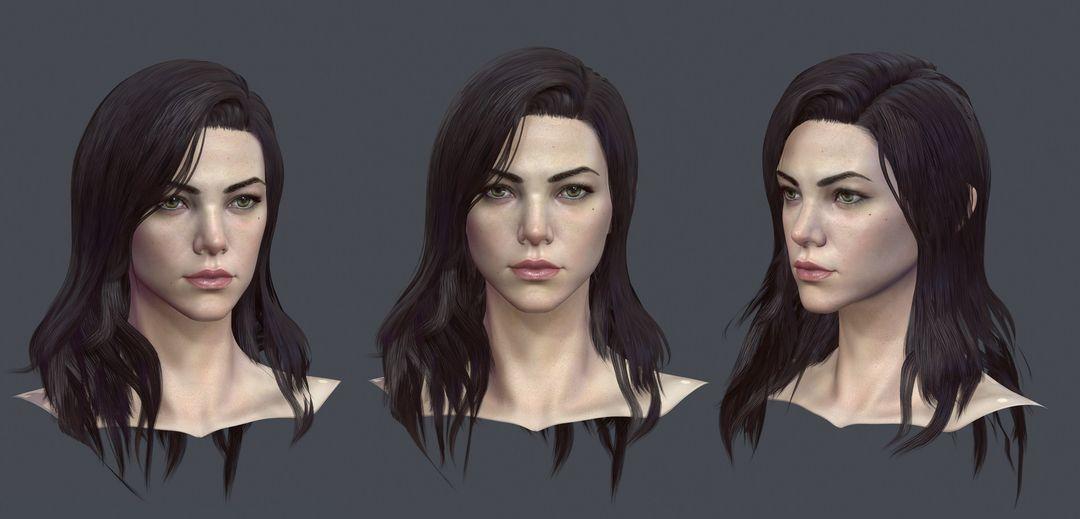 Female Character Model CGH47 9 jpg