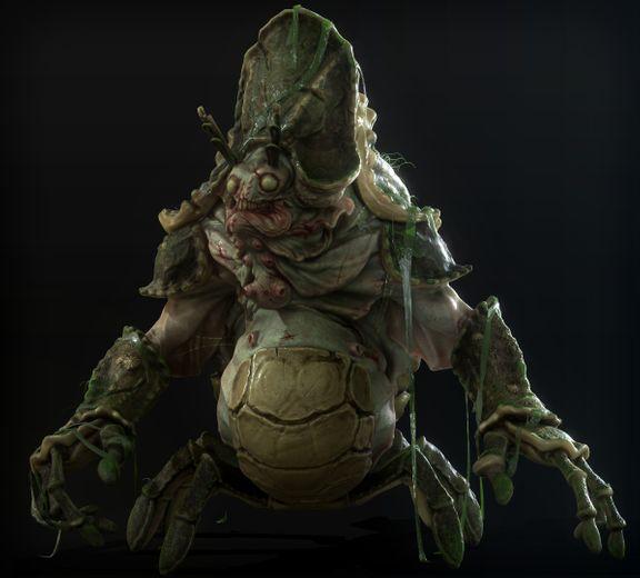 Napoleus - Alien Creature