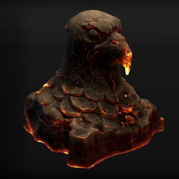 Phoenix Statue