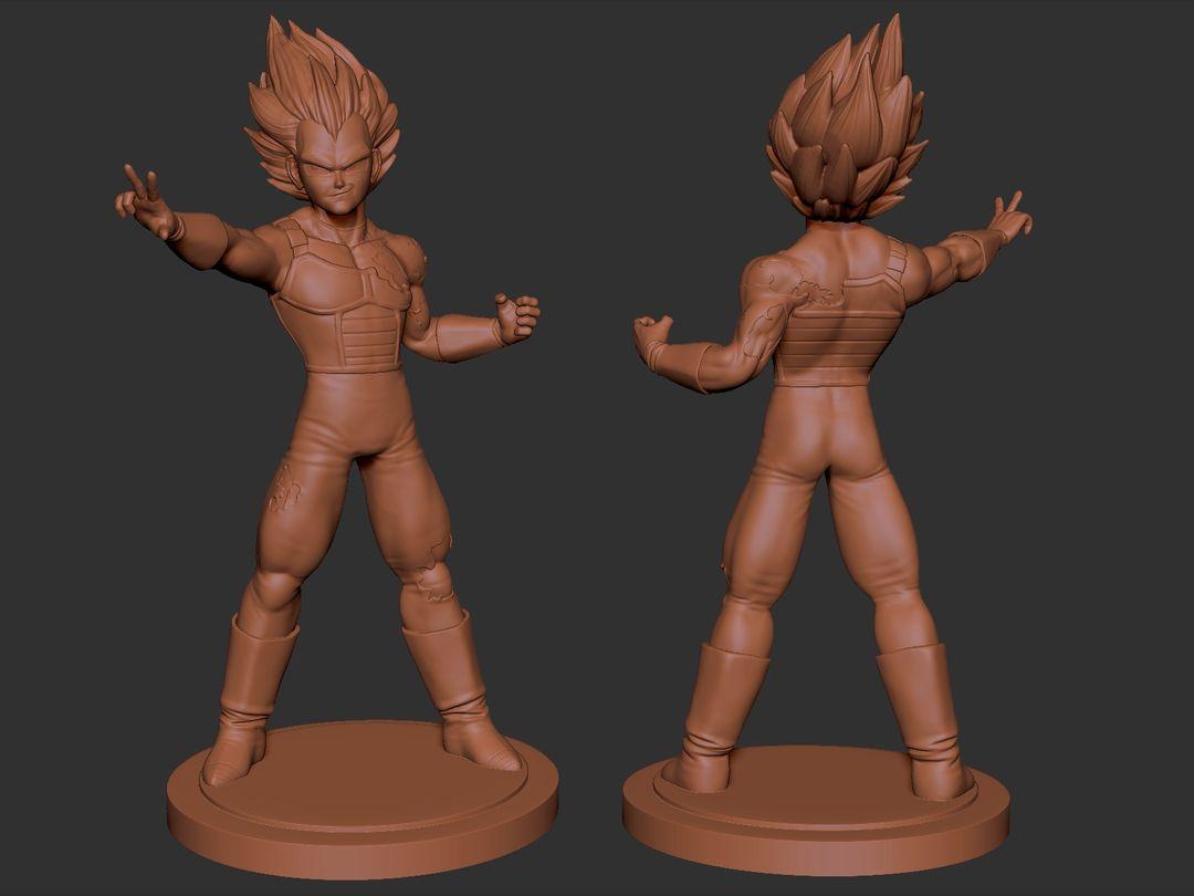 Vegeta 3D Printable Character Vegeta 01 jpg