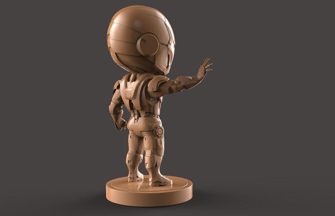 3D Printable Stylised Iron Man Charatcer hung nguyen ironman 10 jpg