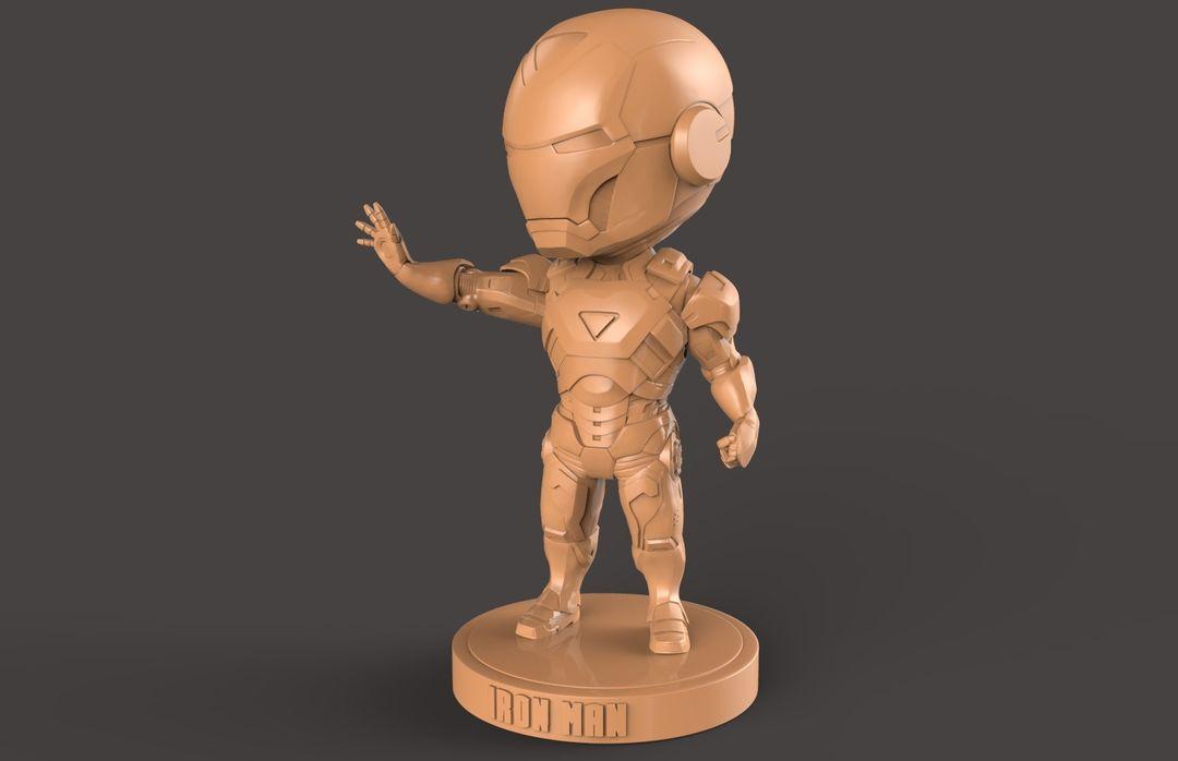 3D Printable Stylised Iron Man Charatcer hung nguyen ironman 8 jpg