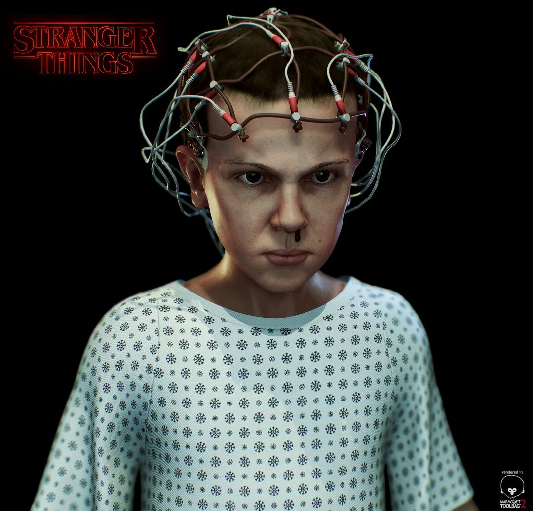 Eleven - Stranger Things Eleven 01 jpg