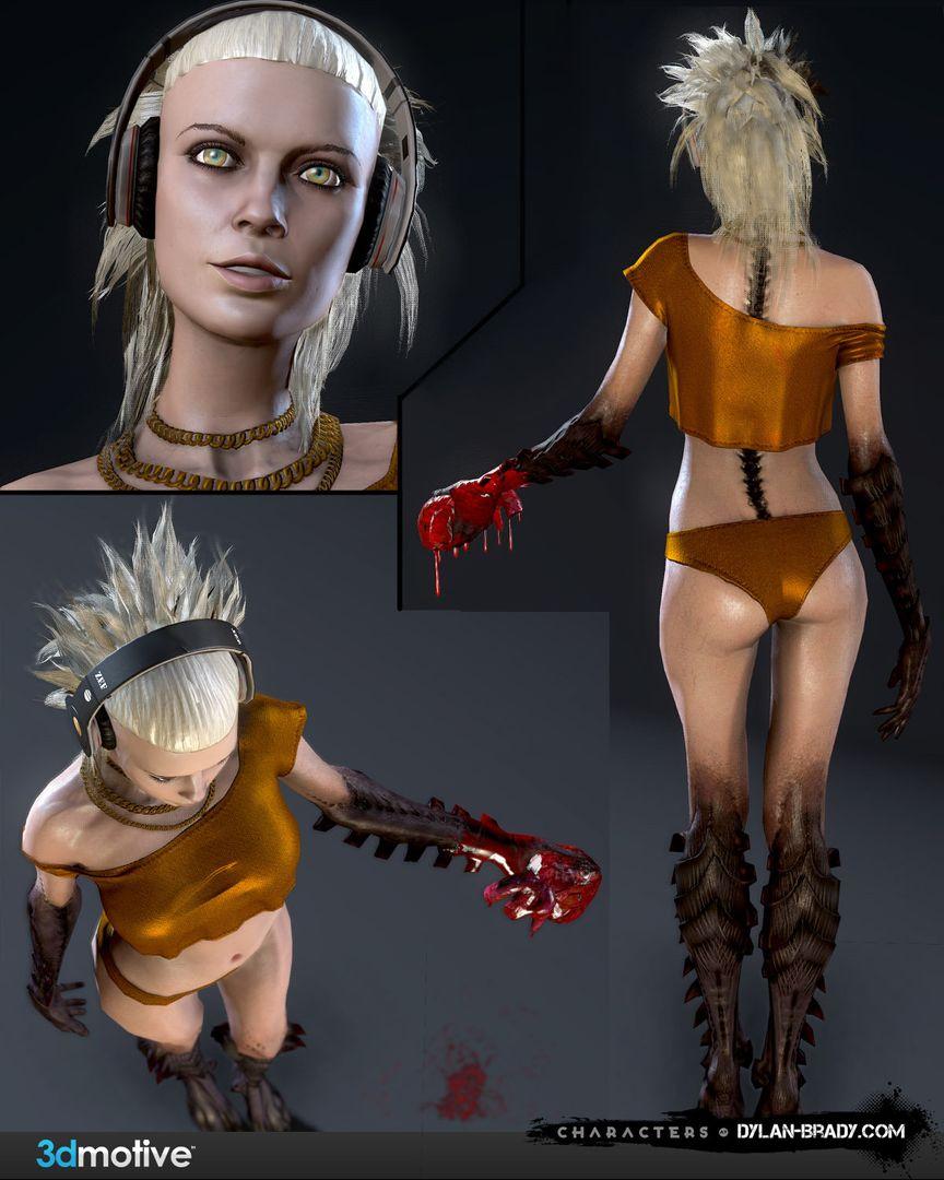 3D Motive Demon Girl 3D Motive Demon Girl 02 jpg