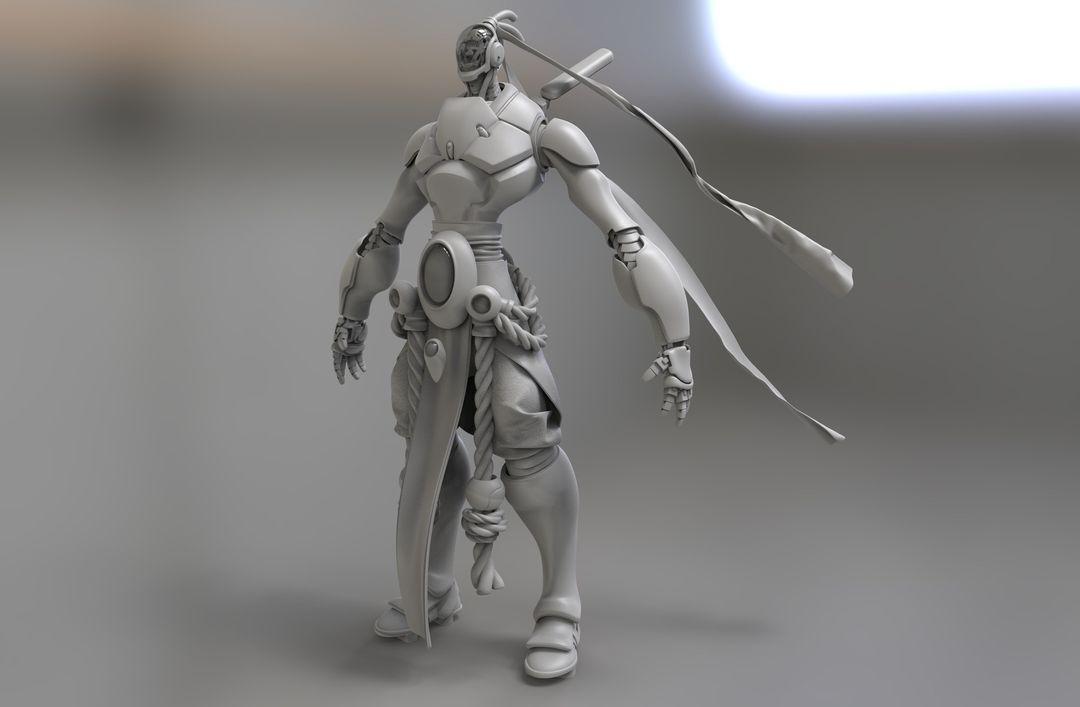 Kuro, Character for Wild Beyond kurt papstein untitled 43 jpg