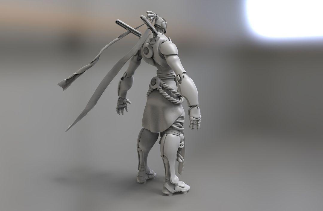 Kuro, Character for Wild Beyond kurt papstein untitled 44 jpg