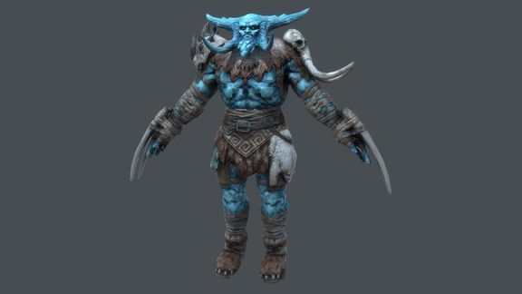Ice Giant Character for Rift: Nightmare Tide expansion