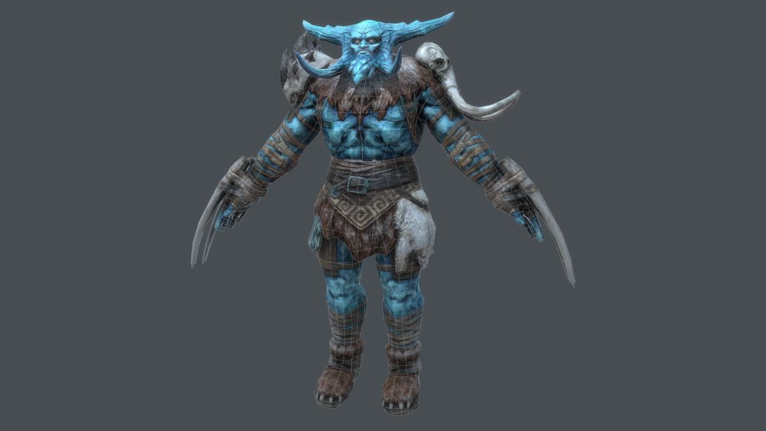 Ice Giant Character for Rift: Nightmare Tide expansion CGH51 19 jpg
