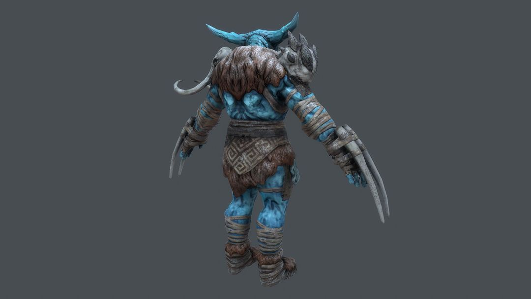 Ice Giant Character for Rift: Nightmare Tide expansion CGH51 20 jpg
