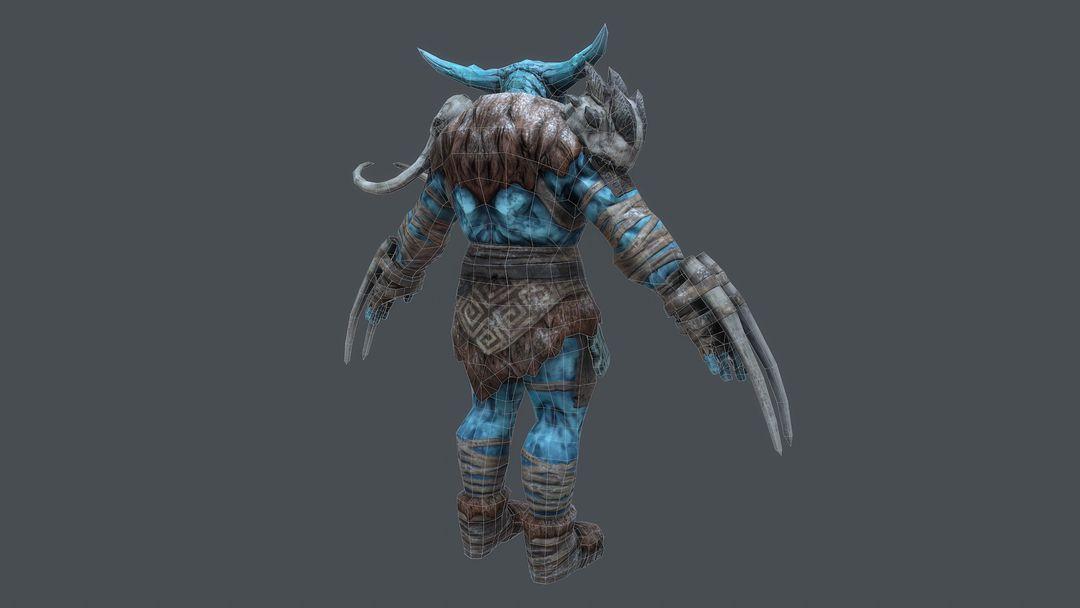 Ice Giant Character for Rift: Nightmare Tide expansion kurt papstein screenshot014 jpg