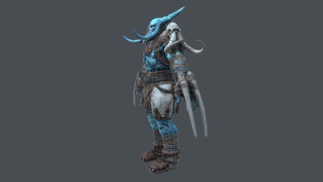 Ice Giant Character for Rift: Nightmare Tide expansion kurt papstein screenshot016 jpg