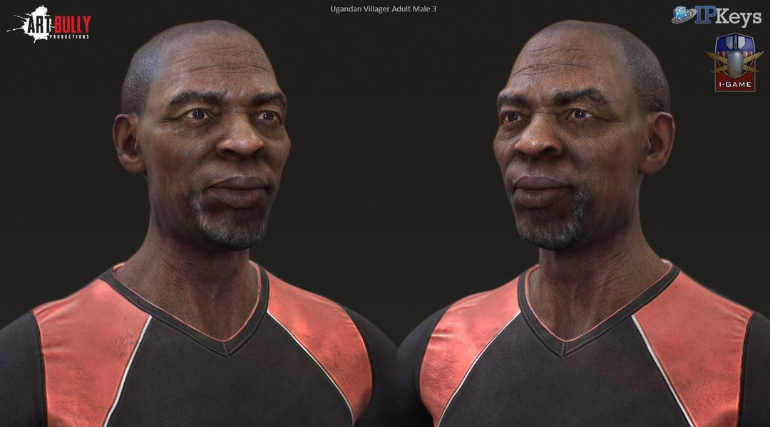Ugandan Villager Male Character CGH63 3 jpg