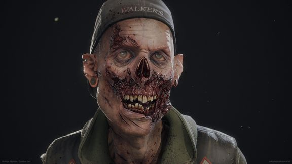 Zombie Earl Real-time Character