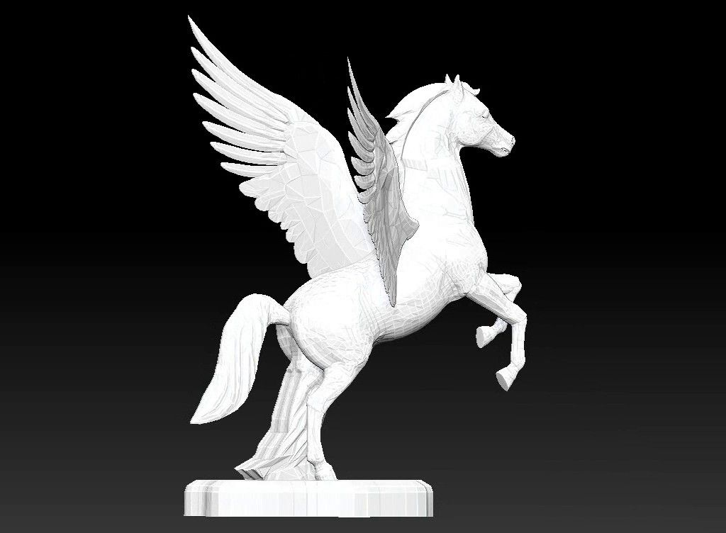 pegasus 3D model Untitled Project03 jpg