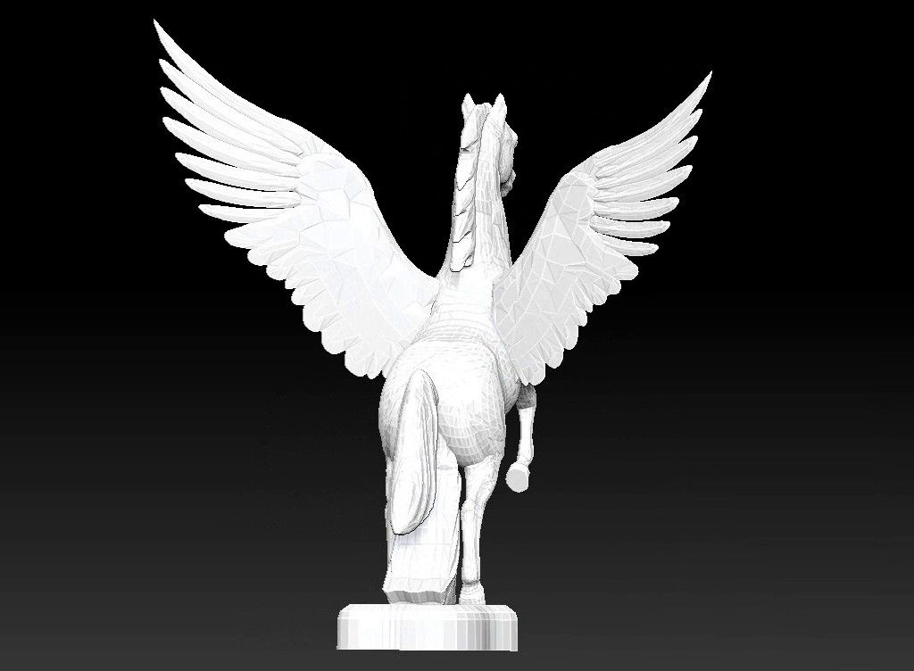 pegasus 3D model Untitled Project06 jpg