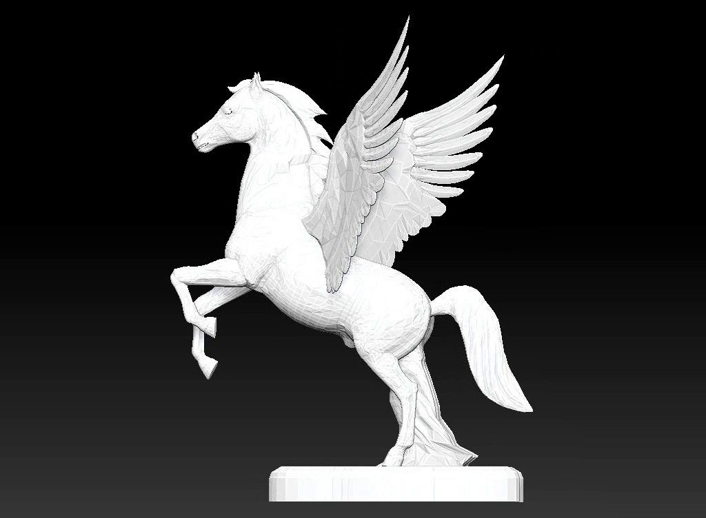 pegasus 3D model Untitled Project12 jpg