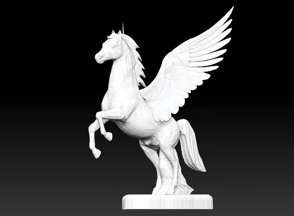 pegasus 3D model Untitled Project15 jpg