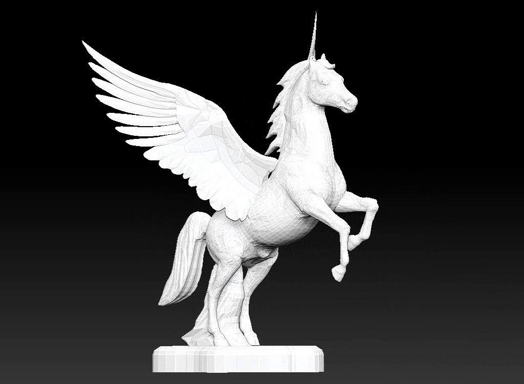 pegasus 3D model Untitled Project21 jpg