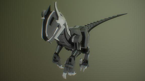 Raptor | lowpoly indie game character