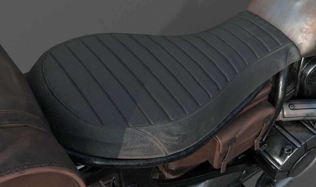 Low poly Motor Bike 3D Model MotorBike Lowpoly 06 jpg