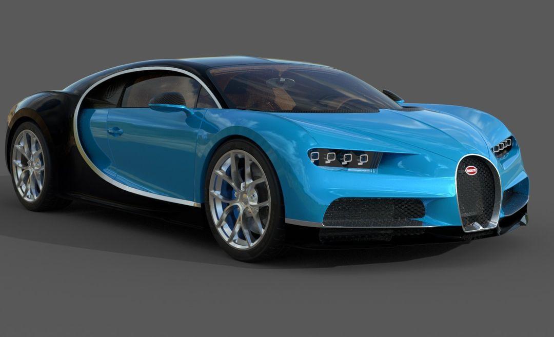 Bugatti Chiron Lowpoly Bugatti Chiron Low Poly 02 jpg