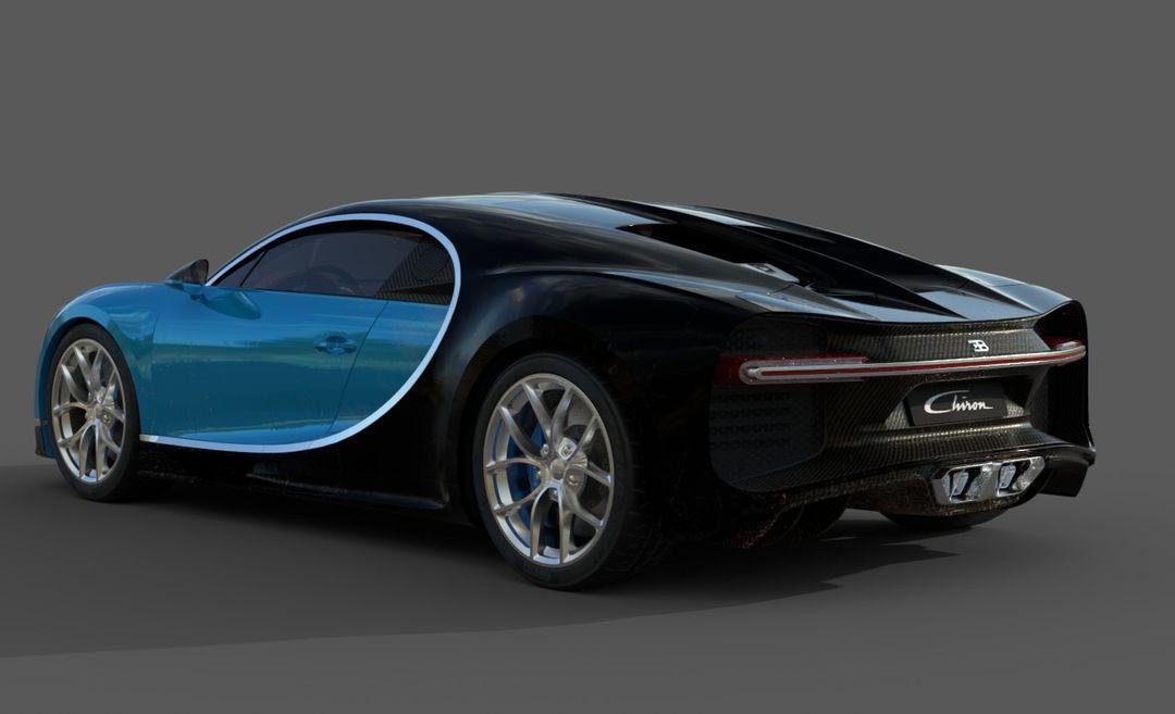 Bugatti Chiron Lowpoly Bugatti Chiron Low Poly 04 jpg